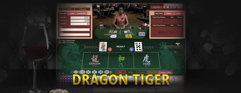 CLUBVEGAS999 DRAGON TIGER